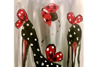 Paint and Sip: Louis and Loboutins