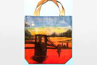 Paint and Sip: Craftholes -The Tote Bag Painting