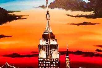 Paint and Sip: Empire State of Mind