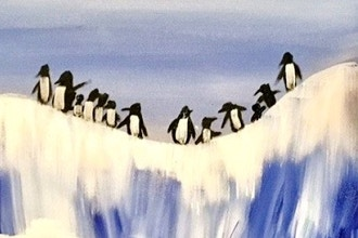 Paint and Sip: Happy Feet