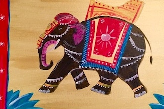 Paint and Sip: The Elephant Show