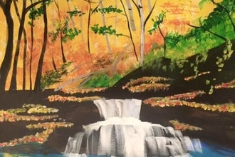 Paint and Sip: Don't Go Chasing Waterfalls