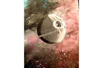 Paint and Sip: That's No Moon