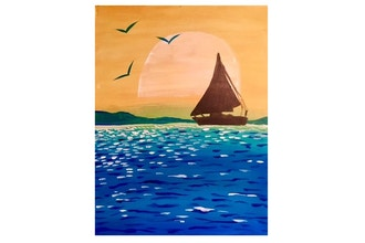 Paint and Sip: Sailing