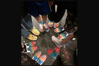 Wearable Art Workshop: Sneaker Painting