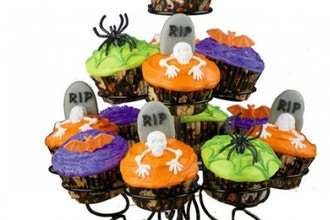 Mommy & Me Halloween Cupcakes
