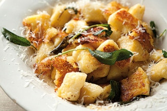 Handmade Gnocchi and Gnudi with Classic Sauces