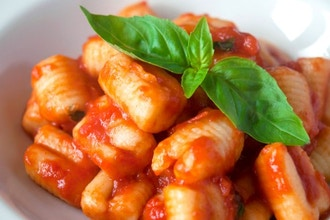 Handmade Gnocchi with Butter & Sage and Pomodoro Sauce