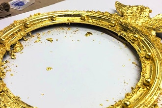 Gold Leaf Restoration of Gilded Frames and Furniture