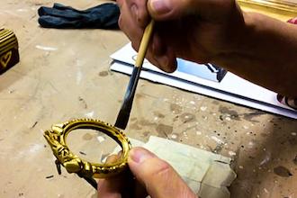 Gold Leaf Gilding for Works of Art