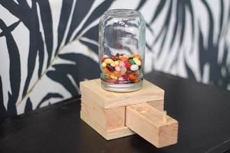 Diy Kids Candy Dispenser Woodworking Classes New York