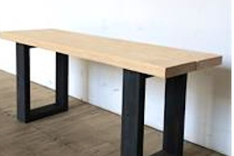 Cool Diy Bench Or Table Byob Woodworking Classes New York Coursehorse The Diy Joint Lamtechconsult Wood Chair Design Ideas Lamtechconsultcom