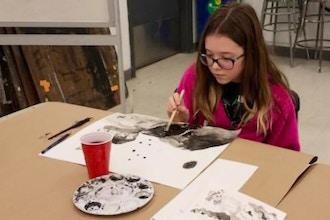 Painting Studio Middle School Program Kids Painting