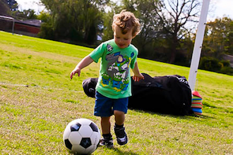 Soccer in Shore Road Park (Ages 3-4)