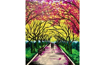 Paint and Sip: Central Park Allee'