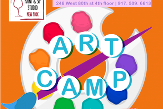 Paint and Sip: Kids Art Camp (5 Day Mini-Camp)