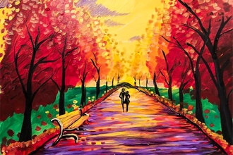 Paint and Sip: A Walk in The Park II
