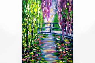 Paint and Sip: Monet's Bridge