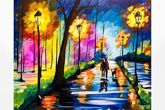 Paint and Sip: Night Stroll