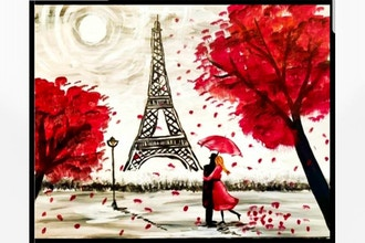 Paint and Sip: Paris Romance