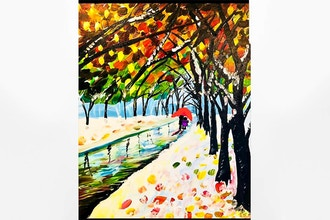 Paint and Sip: Romantic Winter Walk