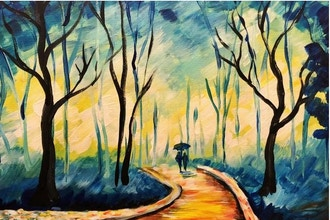 Paint and Sip: Walk with Me