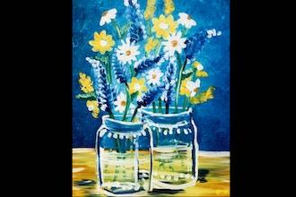 Paint and Sip: Farmhouse Daisies