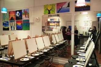 Paint & Sip Studio New York