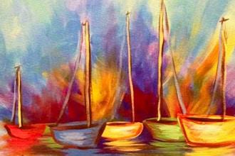 Paint and Sip: Sailboats