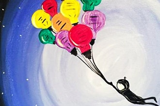 Paint and Sip: Up, Up and Away