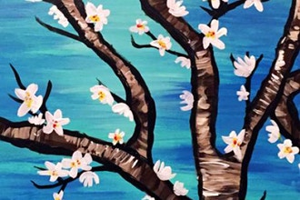 Paint and Sip: Van Gogh's Almond Blossom