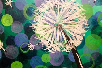 Paint and Sip: Dandelion