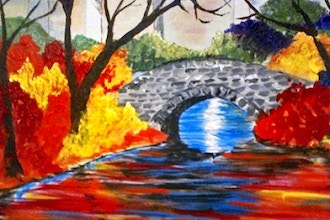 Paint and Sip: Central Park