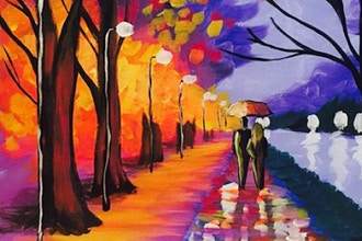 Paint and Sip: Romantic River Walk