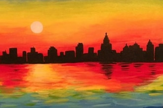 Paint and Sip: Monet's Manhattan Sunrise