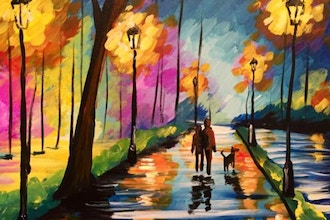 Paint and Sip: Romantic Lights