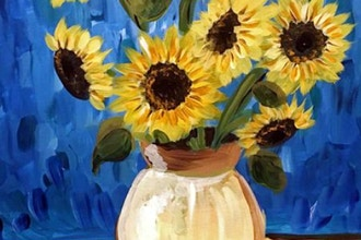 Paint and Sip: Van Gogh Sunflowers