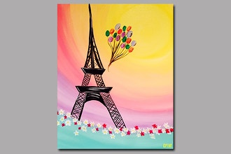 Paint and Sip: Springtime in Paris