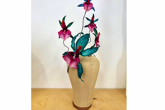 Sculpting Orchids in Thermoplastic