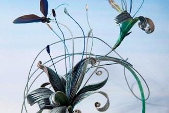 Embossed Silk Flowers