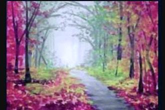 Painting Circle: Autumn Lane