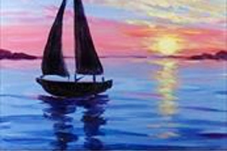 Painting Circle: Seascape