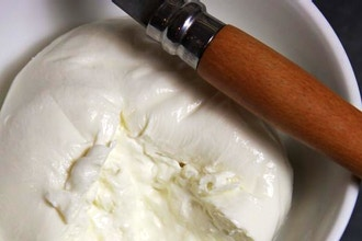 Cheesemaking 201: Burrata