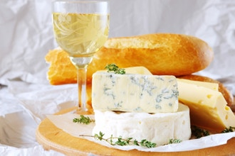 Bubbles + Cheese for Valentine's Day