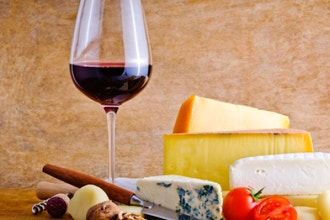 Wine and Cheese of Europe