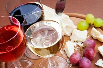 Winter White Wines & Cheese