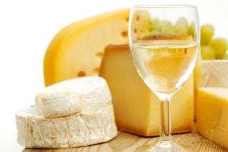Blanco, Bianco, Blanc. White Wine and Cheese.