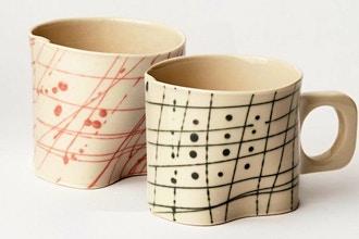 Colored Porcelain Coffee & Espresso Mug Workshop