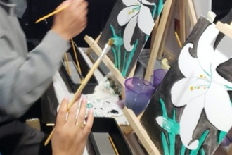 Virtual Paint Party: Easter Lily
