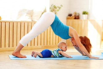 BYOB: Bring Your Own Baby Yoga